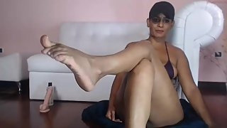 Sexy Latina Milf on Webcam