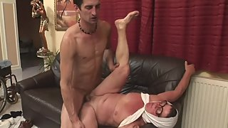 Granny Gets Fucked By Big Dick Young Stud