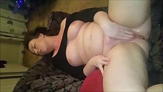 Busty Milf Masturbating And Squirting For Her Partner