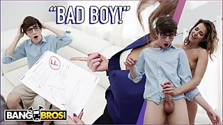 BANGBROS - Jesse, Bad Boy, Stepmom Helena Price Is Gonna Punish You